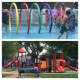 Lyndhurst Summer Day Camp makes good use of the water park and sprawling playground.