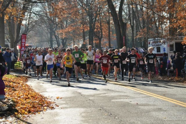 The Harrington Park 5K Fall Spectacular is coming up.