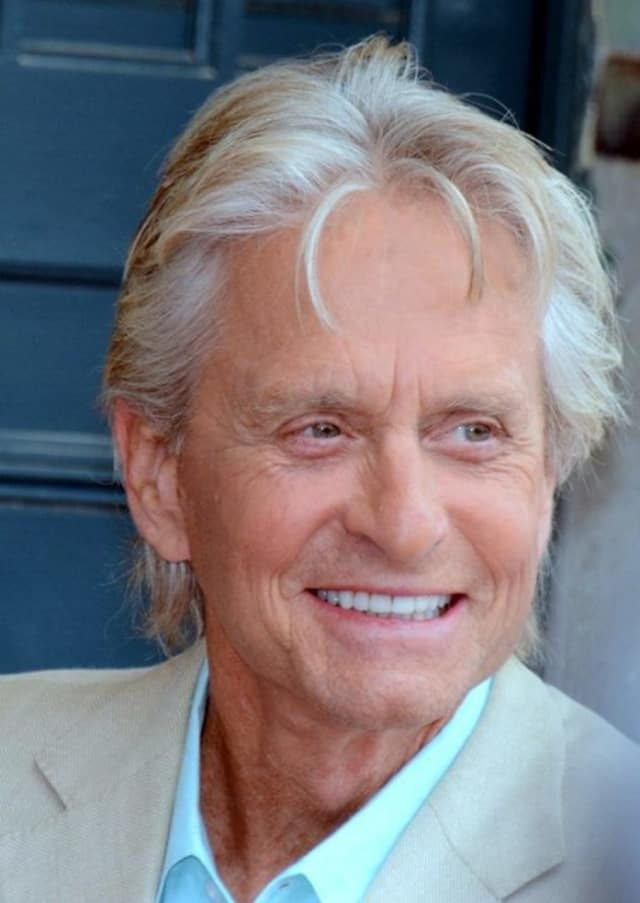 Actor Michael Douglas of Bedford turns 71 on Sunday.