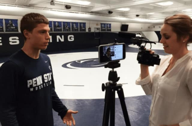 Penn State freshman Nick Suriano of Paramus is getting ready for the toughest match of his college athletic career yet.