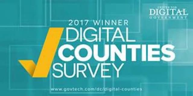 Dutchess County ranked second in the nation in the Digital Counties Survey.