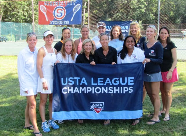 Rye Racquet Club's Ryesing Stars, USTA 4.0 Sectional Champions.