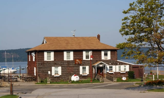 The Ossining Boat and Canoe Club is concerned about their future, as the town considers putting a restaurant in their building.