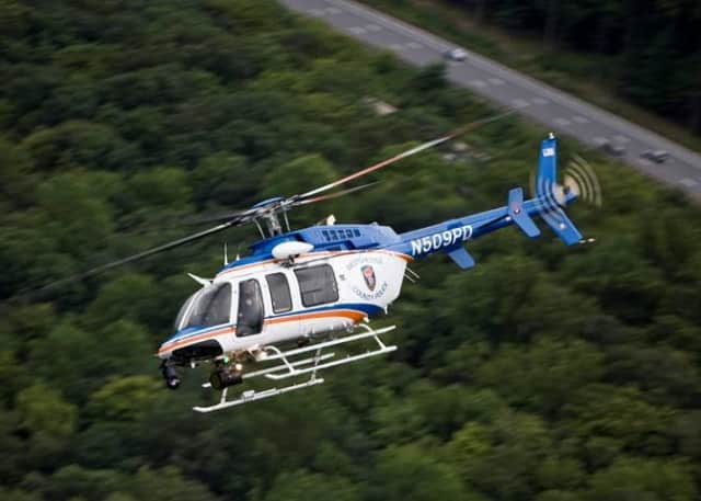 An aviation unit from the Westchester County Police Department made a precautionary landing in Coyne Park in Yonkers.