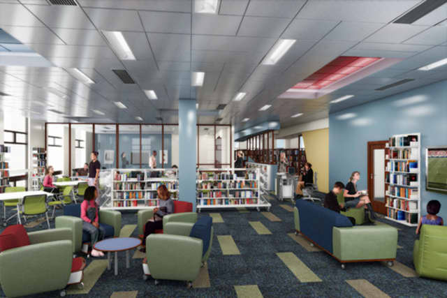 The New York Library Association's Public Library Section has selected the White Plains Public Library to receive its prestigious 2014 Building Award. PLS officials were particularly impressed with The Edge, the library's teen section.