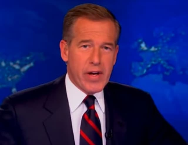 """Brian Williams of New Canaan was removed from his post as anchor of """"NBC Nightly News"""" and spent several months off the air after it was discovered that he had embellished stories about his time reporting on the war in Iraq."""