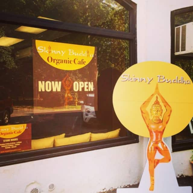 Skinny Buddha Organic Café opened July 6 across from the Scarsdale train station.