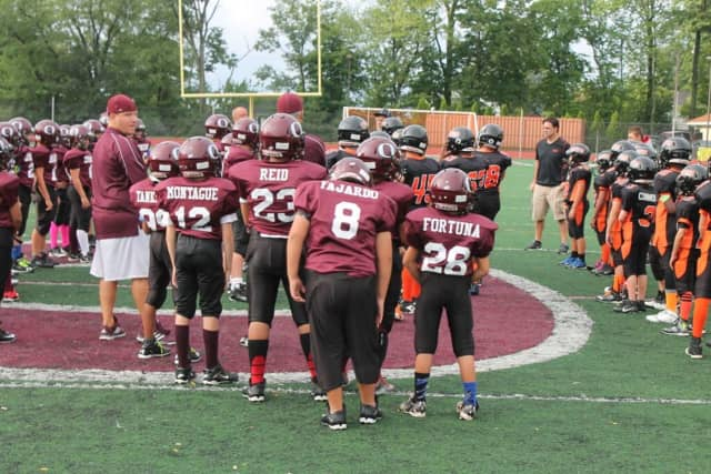 Ossining Hosted Football Funday At Anne M. Dorner Middle School on Sunday, Sept. 13
